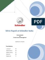 Schindler Case Analysis