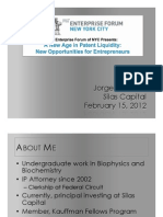 MITEF NYC Presentation - February 15, 2012