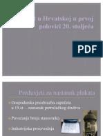 Plakat u Hrvatskoj u Prvoj Polovici 20