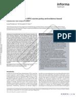 Annals of Medicine - HPV Vaccine