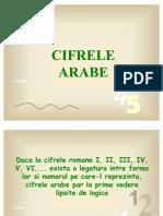 Cifrele arabe