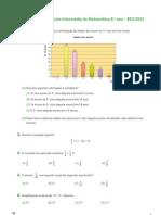 Prep Teste Intermedio Xis8