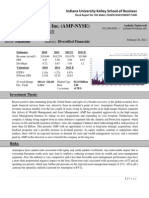 Stock Pitch Guidelines Template Discounted Cash Flow Investing