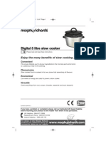 Slow Cooker Instructions