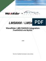 Free Radius and MySQL Linux Configuration v1.6.2