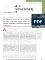 Google Android a Comprehensive Security Assessment From IEEE
