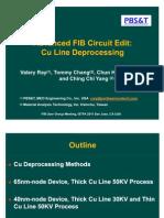 Advanced FIB Circuit Edit