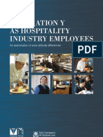 Generation Y as Hospality Employees