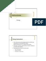 Instrucciones de Temporización del PLC