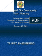 APC Town Hall Meeting City and County Department of Transportation