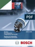 Bomba de Combustible Reguladores de Presion Bosch