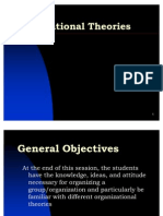 18 Organizational Theories