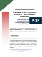 Entrenamiento Especifico Del Perro K-sar Urbano y Rural de Area