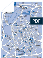 Plan Bourges - Centre-Ville Et Acces
