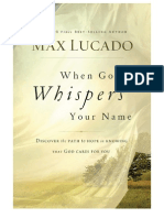 When God Whispers Your Name - Discover the Path to Hope in Knowing That God Cares For You - Sample