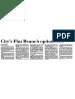 Flat Branch Blight Plan Failure