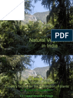 Natural Vegetation of India