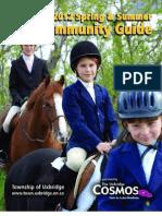 Uxbridge Community Guide Spring & Summer 2012