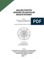 Analisis Strategi Bersaing Telkom Dalam Industri Internet