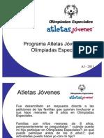Presentación Programa de Atletas Jóvenes 2011
