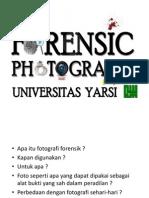 Fotografi forensik - argie