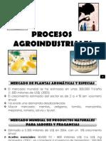 PROCESOS AGROINDUSTRIALES - ACEITES ESENCIALES