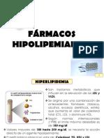 FARMACOS HIPOLIPEMIANTES