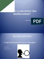 A Leitura e o Seu Ensino InesSimSim_Nov09
