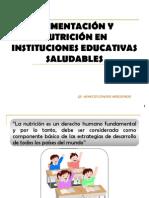 ALIMENTACIÓN Y NUTRICIÓN EN INSTITUCIONES EDUCATIVAS SALUDABLES