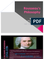 Rousseau's philosophy