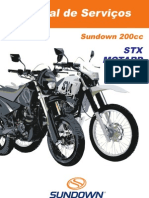 QingQi200GY STX200 Repair Manual Portuguese