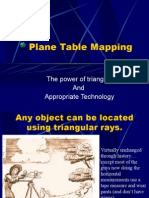 EE Plane Table Mapping
