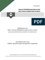 950 SP Math(M)