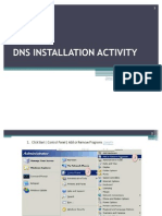 DNS Installation Activity