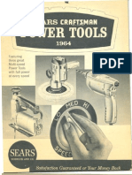 1964 Sears Craftsman Tool Flyer