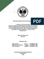 Prposal PKM-GT (Cokelat)