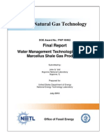 Water Management Technologies Used by  Marcellus Shale Gas Producers by Argonne National Laboratories for U.S. DoE NETL, July 2010