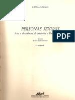 Personas Sexuais Camille Paglia