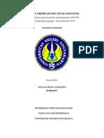 Format Laporan Observasi Sekolah II