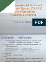 CASAS Presentation
