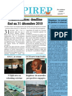 Bulletin d'information du COPIREP #1 2010 decembre