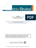 Neumonia Pediatrics in Review 2008