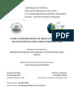 Etude et dimensionnement du réseau du service fixe des télécommunications aéronautiques (RSFTA) de l'ADS (Agence des aéroports du Sénégal)