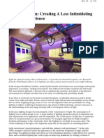 Lighting Design-Creating a Less Intimidating Hospital Experience