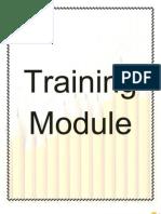 Training Module Finale