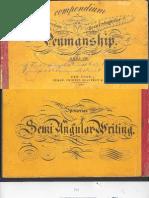 Spencer - Compendium of Spencer Ian or Semi-Angular Penmanship