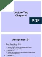 FM Lecture 02