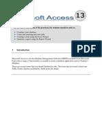 Lab 6 Access