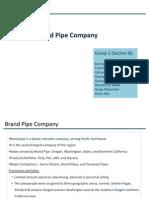 Brand Pipe Company