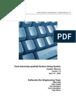 Ayepoll System Manual